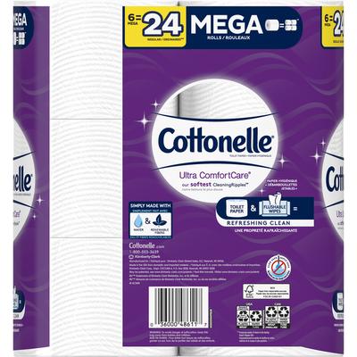 Cottonelle Ultra ComfortCare Mega Roll Toilet Paper Bath Tissue