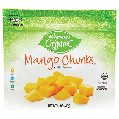 Wegmans Organic Food You Feel Good About Mango Chunks