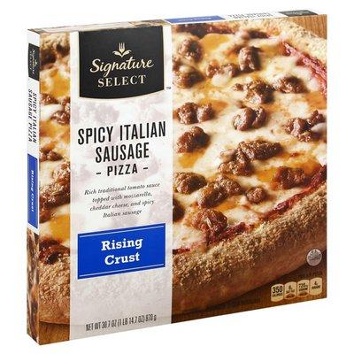 Signature Select Pizza, Rising Crust, Spicy Italian Sausage