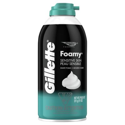 Gillette Foamy Sensitive Shave Cream