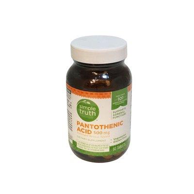 Simple Truth 500 Mg Pantothenic Acid