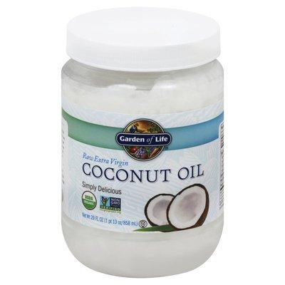 Garden of Life Coconut Oil, Raw Extra Virgin