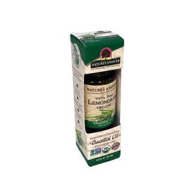 Nature's Answer 100% Pure Lemongrass Essential Oil