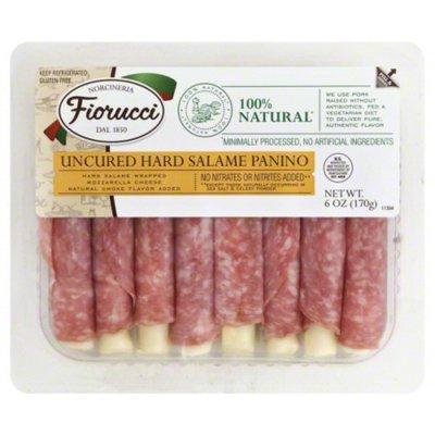 Fiorucci Uncured Hard Salami Wrapped Mozzarella Cheese