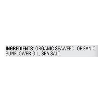 gimMe Seaweed, Premium Roasted, Sea Salt