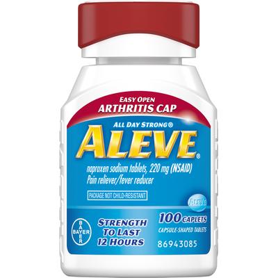 Aleve Pain Reliever/Fever Reducer, 220 mg, Caplets