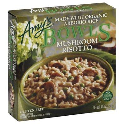 Amy's Frozen Bowls, Mushroom Risotto, Non-GMO, Gluten free