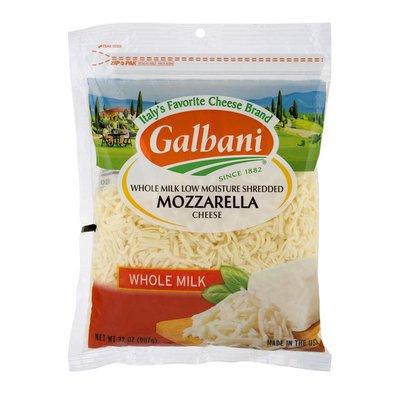 Galbani Galbani Whole Milk Mozzarella Shredded Cheese