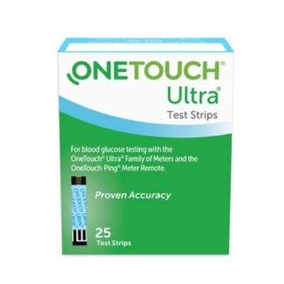 OneTouch Test Strips, Blue