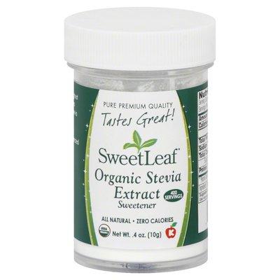 Sweet Leaf Tea Co Stevia Extract, Organic