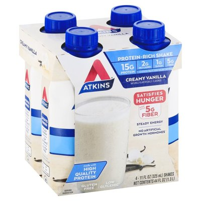 Atkins Protein-Rich Shake, Creamy Vanilla