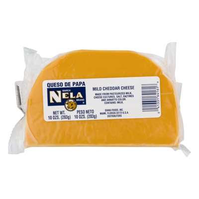 Marca Nela Brand Mild Cheddar Cheese