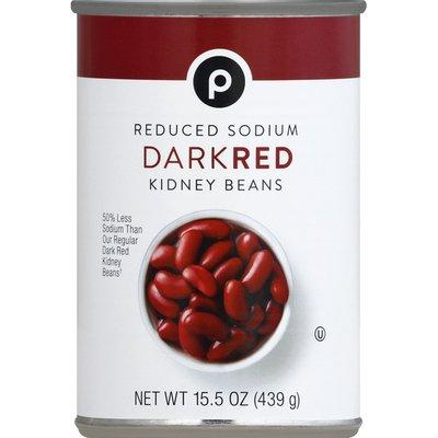 Publix Kidney Beans, Reduced Sodium, Dark Red