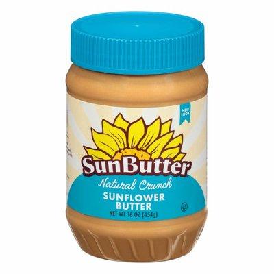 SunButter Sunflower Butter, Natural Crunch
