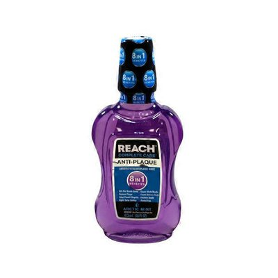 Reach Essential Complete Care Arctic Mint Anti Plaque Mouth Wash