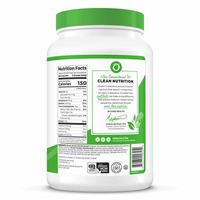 Orgain Protein Powder, Vanilla Bean Flavored