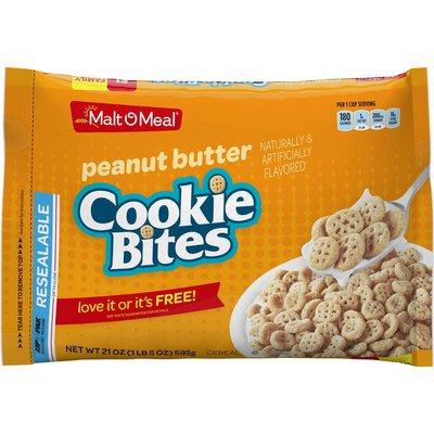 Malt-O-Meal Peanut Butter Cookie Bites Cereal