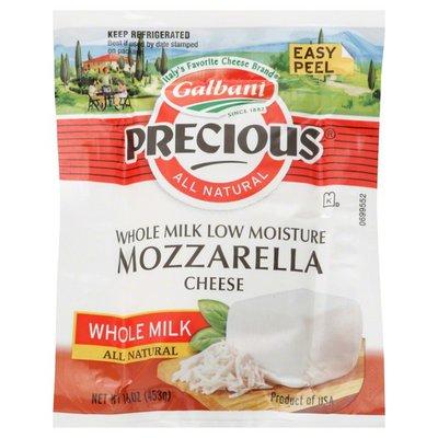 Galbani Cheese, Mozzarella, Low Moisture Whole Milk
