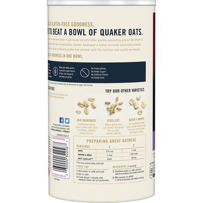 Quaker Oats Select Starts  Gluten Free Regular