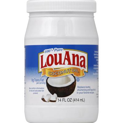 LouAna Coconut Oil, 100% Pure