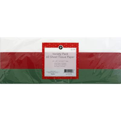 Publix Tissue Paper, Variety Pack