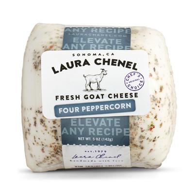 Laura Chenel's Chèvre Four Peppercorn Fresh Goat Cheese Chabis
