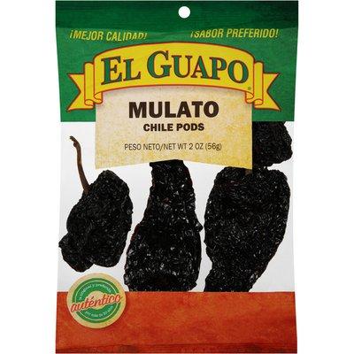El Guapo® Whole Mulato Chili Pepper (Chile Mulato)