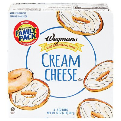 Wegmans Food You Feel Good About Original Cream Cheese, FAMILY PACK