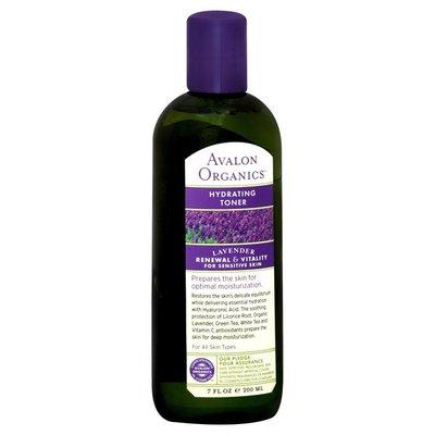 Avalon Organics Hydrating Toner, Lavender