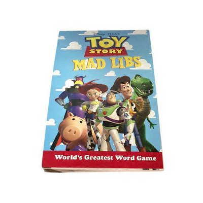 Mad Libs Toy Story Paperback
