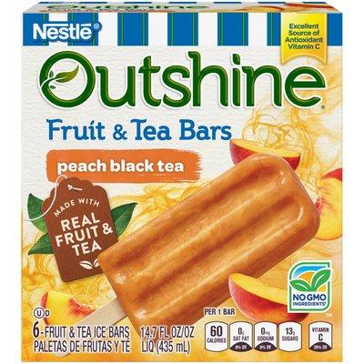 Outshine Peach Black Tea Fruit & Tea Bars