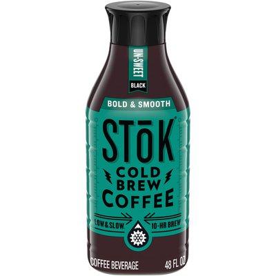 Stok Cold Brew Coffee, Black Unsweetened