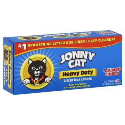 Jonny Cat Heavy Duty Litter Box Liners - 5 CT