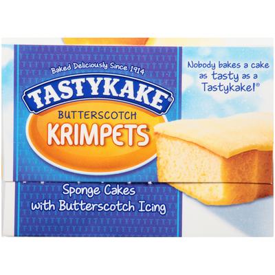 Tastykake Butterscotch Krimpets Cakes