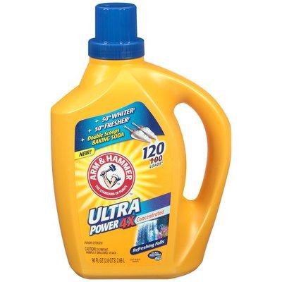 Arm & Hammer 4X Ultra Power Refreshing Falls Liquid Laundry Detergent