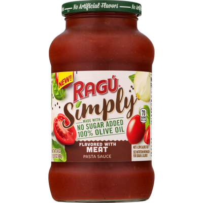Ragu Simply Flavored with Meat Pasta Sauce