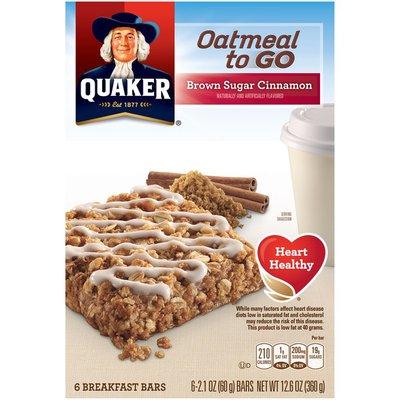 Quaker Brown Sugar Cinnamon Breakfast Bars