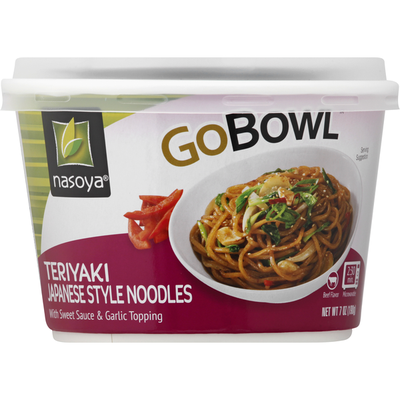 Nasoya Noodles, Japanese Style, Teriyaki