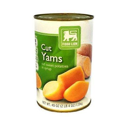 Food Lion Cut Yams Cut Sweet Potatoes In Syrup