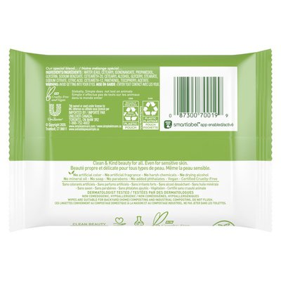 Simply Facial Cleansing Wipes Cleansing