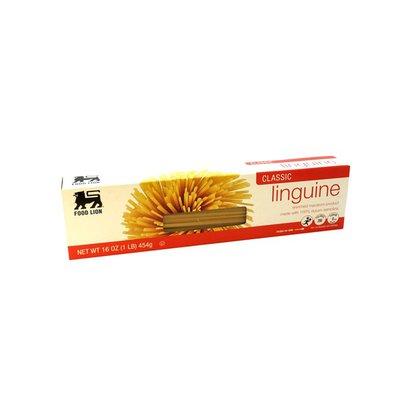 Food Lion Pasta, Linguine, Classic, Box