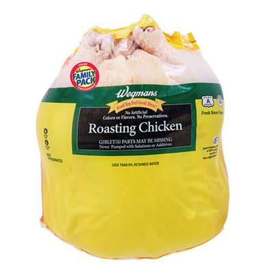 Wegmans Roasting Chicken with Giblets, FAMILY PACK