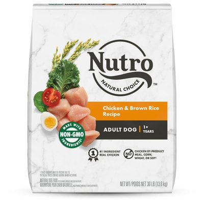 NUTRO Wholesome Essentials Farm Raised Chicken Brown Rice & Sweet Potato Recipe Dry Adult Dog Food