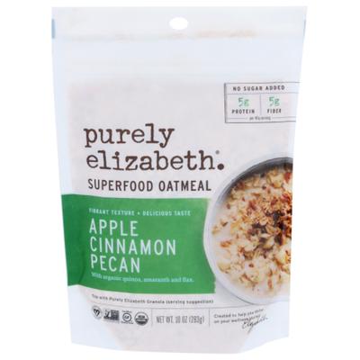 Purely Elizabeth Organic Ancient Grain Apple Cinnamon Pecan Oatmeal