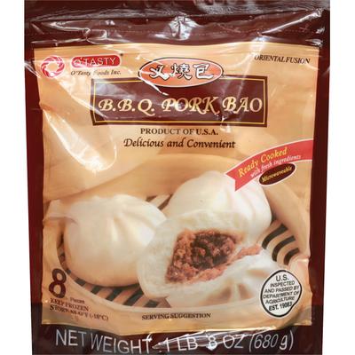 O Tasty Pork Bao, BBQ, Ready Cooked