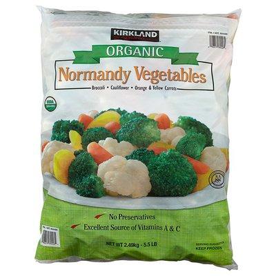 Kirkland Signature Organic Vegetables, 5.5 lb