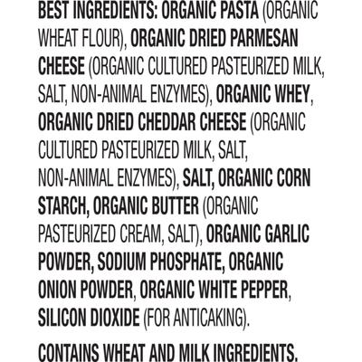Annie's Organic Peace Pasta & Parmesan, Mac & Cheese