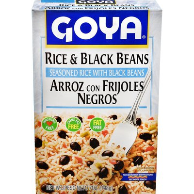 Goya Rice & Black Beans, Seasoned Rice Mix