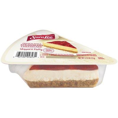 Sara Lee Cheesecake Slice Strawberry