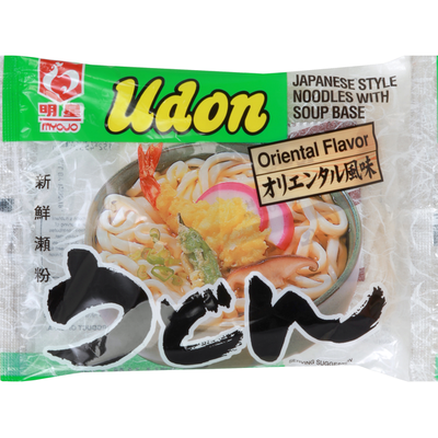 Myojo Udon, Oriental Flavor, Japanese Style Noodles with Soup Base